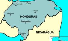 Ubicación geográfica de Honduras en el mundo