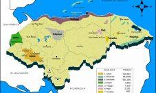 Mapa de grupos étnicos de Honduras
