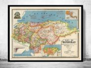 Mapas antiguos de Honduras