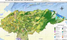 Mapa de bosques de Honduras