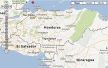 Mapa de costas de Honduras