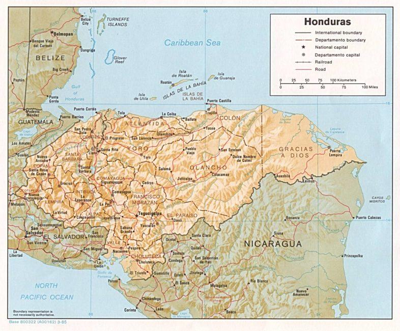 mapa_de_fronteras_naturales_de_honduras