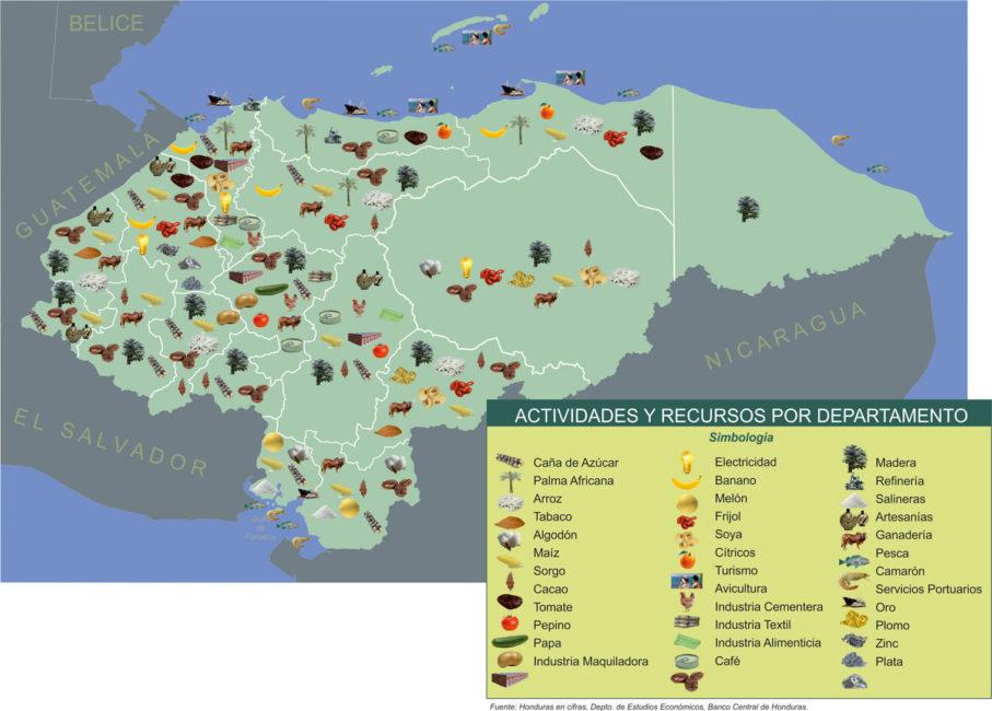 mapa_de_producción_de-honduras