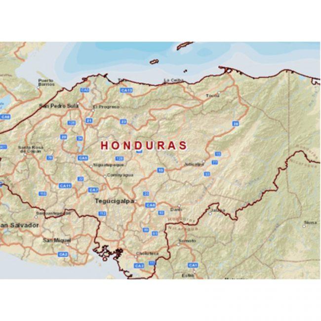 mapa_de_sitios_arqueológicos_de_honduras