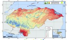 Mapa meteorológico de Honduras