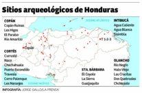 Mapa de las cuencas hidrográficas de honduras